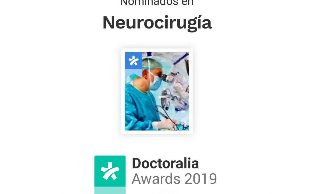 Nominación a los Doctoralia Awards 2019