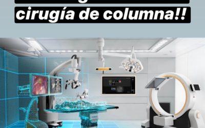El futuro de la cirugía de columna ya es presente y una realidad en León.