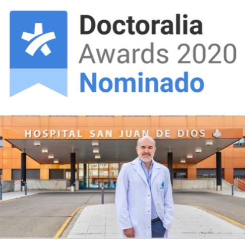 Nominación a Doctoralia Awards 2020 por cuarto año consecutivo